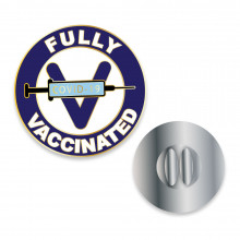 Fully Vaccinated Lapel Pins