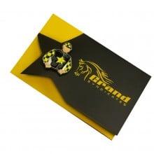 Custom Cut Lapel Pin Cards