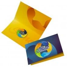 Folded Lapel Pin Cards