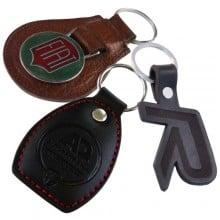 Bespoke Leather Keyrings