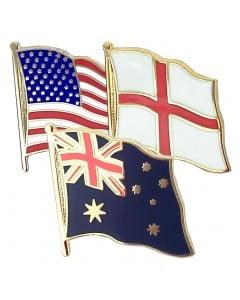 Country Flag Pin Badge