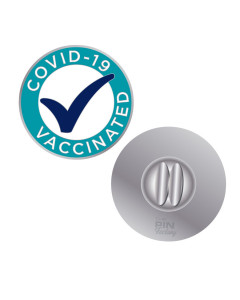 Covid 19 Vaccinated Lapel Pins