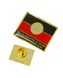Aboriginal Flag Badges Limited Edition