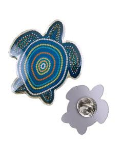 NAIDOC Turtle Lapel Pin