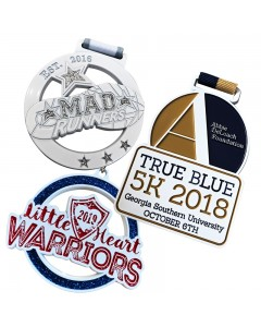 Powder Coated Medals