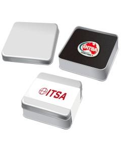 Lapel Pin Tin Gift Box